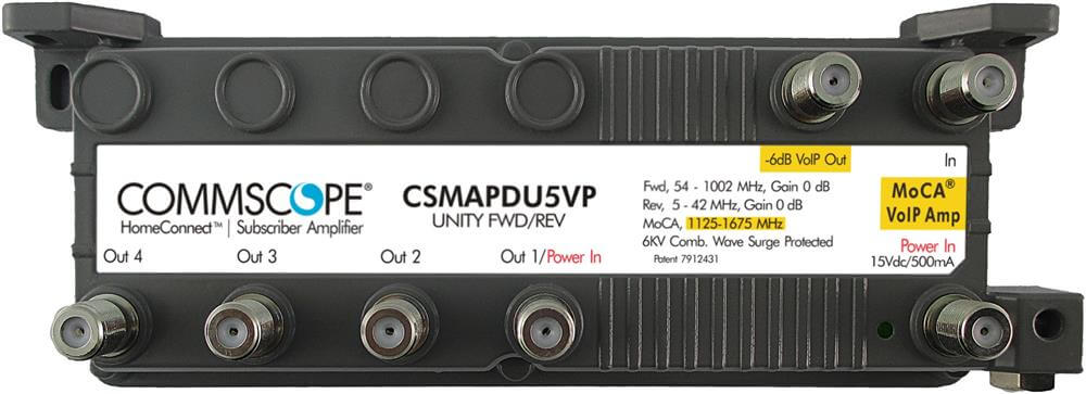 Commscope CSMAPDU5VPI DOCSIS 3.0/3.1 MoCA Signal amplifier